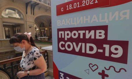 Rússia bate novo recorde de mortes pelo coronavírus