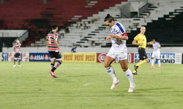 Paysandu vence o Santa Cruz e é líder na Série C
