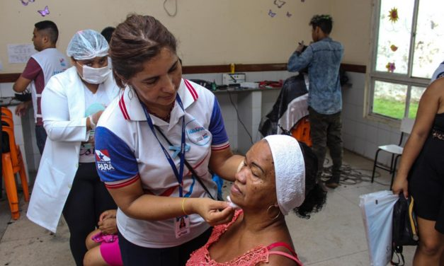 Ação integrada oferta serviços gratuitos em saúde e cidadania
