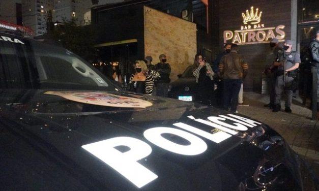 Mais de mil pessoas foram flagradas em baladas irregulares na cidade de SP no fim de semana; seis festas foram fechadas