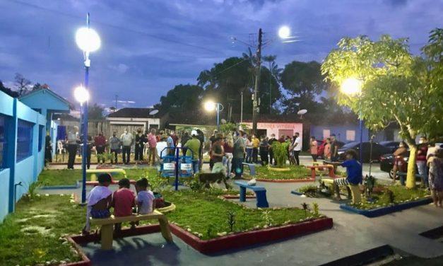 Vila do Apeú ganhou uma nova praça