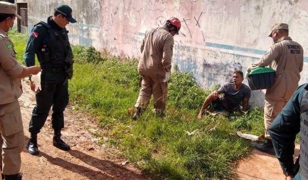 Homem é atropelado após assaltar empresa em Barcarena