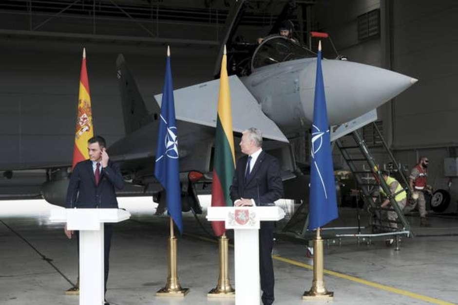 Jatos russos paralisam coletiva de líderes de Espanha e Lituânia