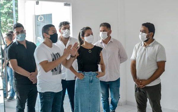 Comitiva de Secretários visita escolas municipais de Marituba