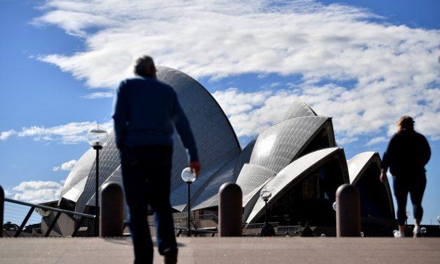 Sydney reforça confinamento com avanço da variante delta do coronavírus na Austrália