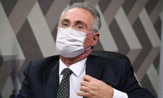 Renan ataca Bolsonaro: Posa de macho no cercadinho e emudece diante da CPI
