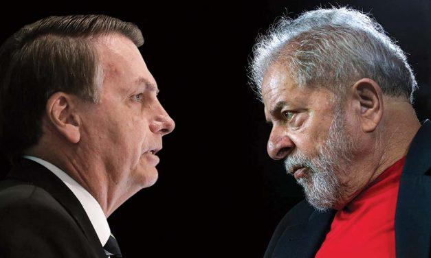 Lula amplia vantagem sobre Bolsonaro e, no 2º turno, tem 58% contra 31%, aponta Datafolha