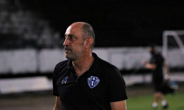 """""""Não podemos errar"""", diz técnico do Paysandu após derrota"""