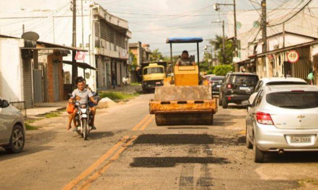Prefeitura de Marituba segue com a operação tapa-buracos em vários pontos da cidade