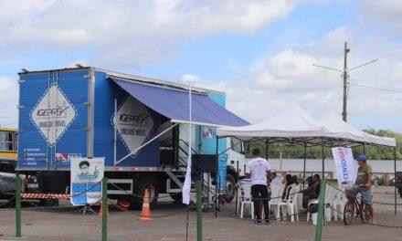 Vigia recebe unidade móvel do Instituto de Gestão Previdenciária do Estado do Pará (IGEPREV)