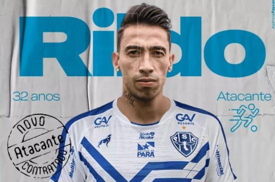 Ex-Santos, Corinthians e Vasco, Rildo assina com o Paysandu para a disputa da Série C do Brasileiro