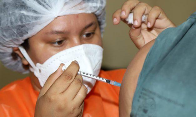 Em Marituba, vacinação desta quarta será para quem tem 34 anos