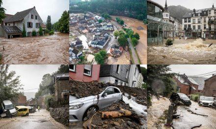 Chuvas e inundações deixam mais de 20 mortos na Alemanha na Bélgica