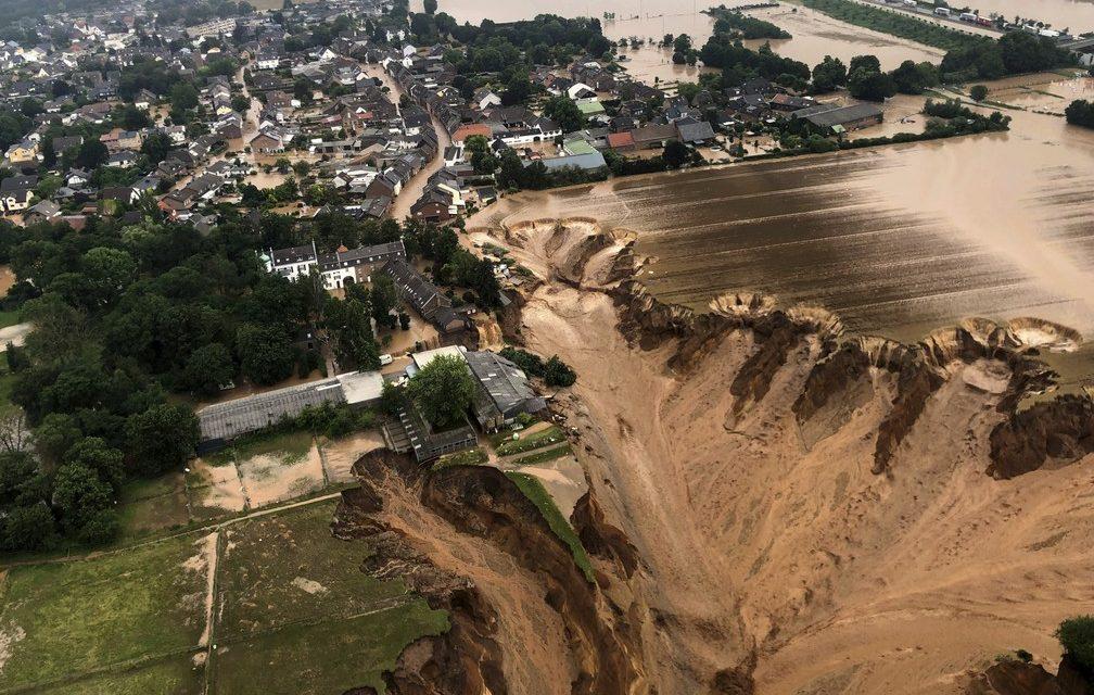 Passa de 100 o nº de mortos após chuvas na Europa; mais de 1,3 mil pessoas estão desaparecidas