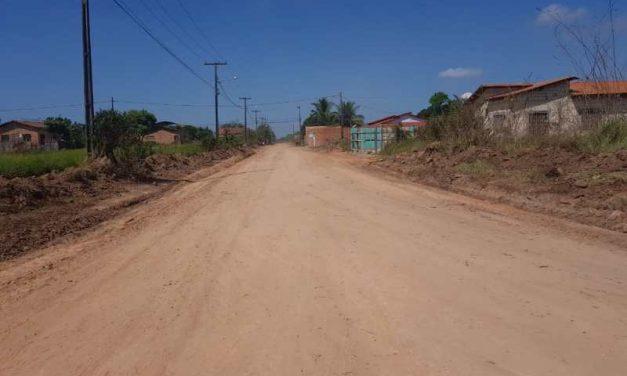 Prefeitura de Tailândia realiza manutenção em todas as ruas do Bairro Fluminense