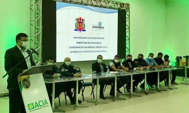 Parceria entre Uepa e Guarda Municipal de Ananindeua capacita agentes de segurança
