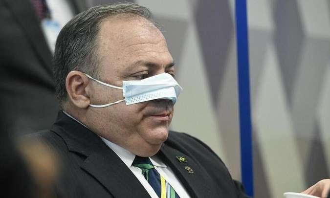Pazuello nega ter participado de negociação para compra da vacina CoronaVac com intermediários