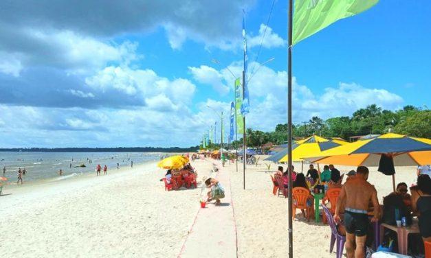 Terceiro final de semana de  julho tem procura moderada em praias de Barcarena