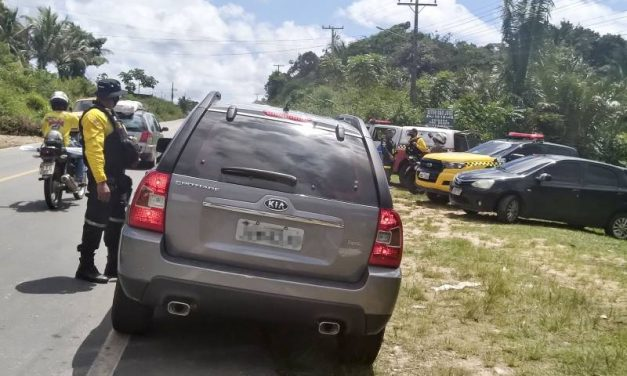 Fiscalização do Detran em Bragança combate alcoolemia nas estradas