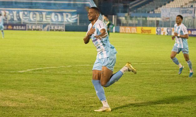 """Após primeiro gol com a camisa do Paysandu, Danrlei revela reação da mãe: """"chorou muito"""""""
