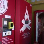 Roma inaugura sua 1ª máquina automática para servir pizzas