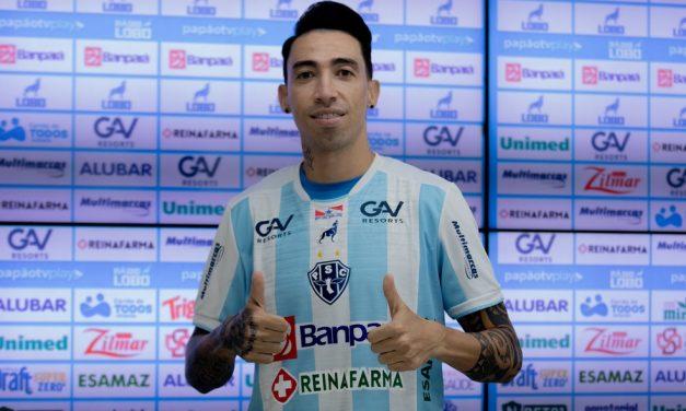 """Rildo é apresentado oficialmente no Paysandu e afirma que quer """"corresponder às expectativas"""""""
