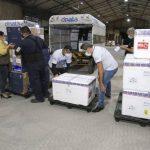 Pará recebe mais 260 mil doses de vacinas contra Covid-19