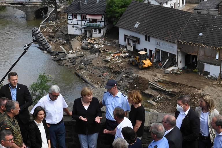 Governo alemão libera ajuda econômica a áreas afetadas por enchentes