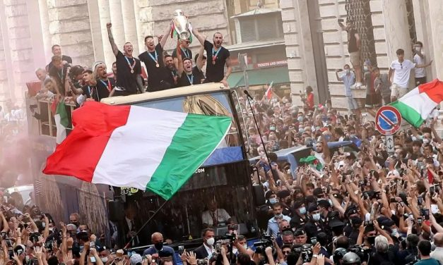 Autoridades italianas culpam celebração da Euro pela ascensão da covid-19