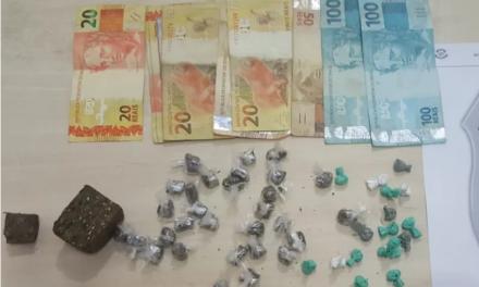 Dupla é presa por tráfico de drogas em Bragança