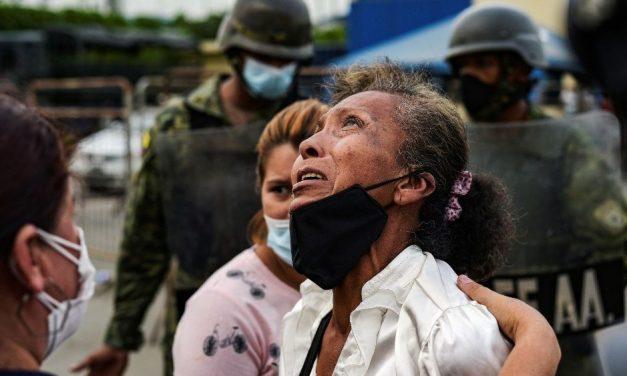 Motins em prisões do Equador deixam 18 mortos e 44 feridos
