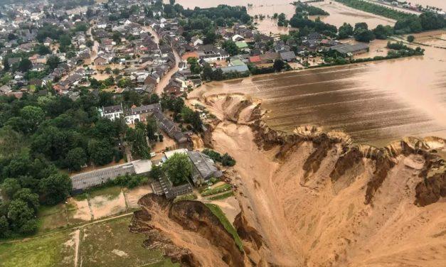 Catástrofes na China e na Alemanha confirmam gravidade da crise climática