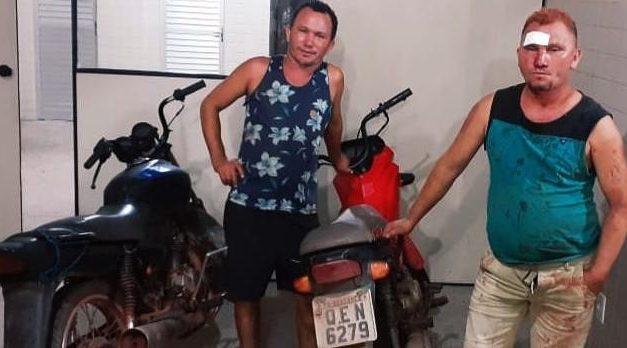 Homens que ameaçavam moradores de Bragança com arma de fogo são presos pela PM