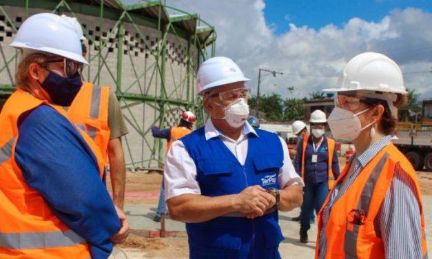 Secult visita as obras de Usinas da Paz, em  Ananindeua e Belém e planeja as ações culturais