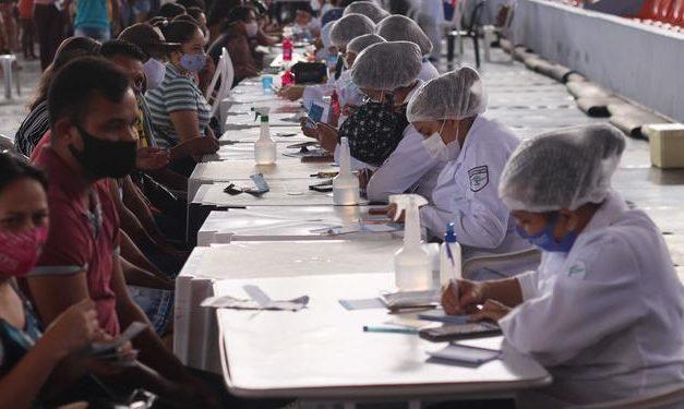 Trabalhadores de Saúde com a 1ª dose contra a covid já são 178 mil