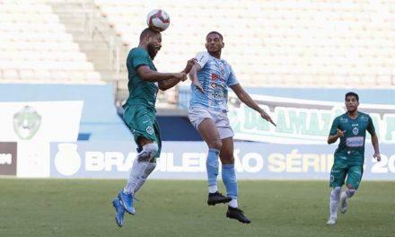 Paysandu arranca empate com o Manaus e chega a três jogos sem vencer na Série C