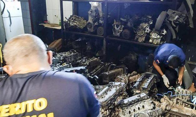 Operação Garra cumpre mandados em lojas de peças automotivas em Ananindeua