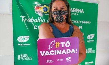 Barcarena vacina pessoas de 36 e 35 anos sem comorbidades quinta e sexta, respectivamente