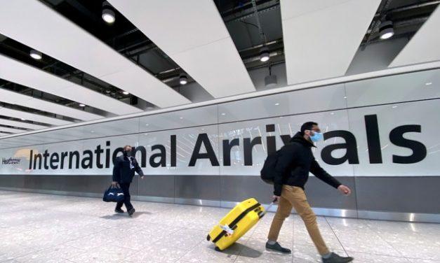 Inglaterra isenta de quarentena viajantes vacinados de União Europeia e Estados Unidos