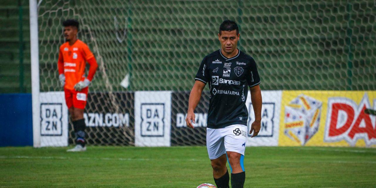 Em rede social, Bruno Collaço se despede do Paysandu: 'Nunca faltou entrega e comprometimento'
