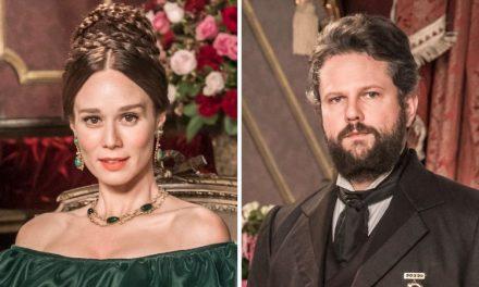 Mariana Ximenes revela apelido inusitado que ganhou de Selton Mello nos bastidores de 'Nos Tempos do Imperador'