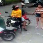 Dupla assalta mulher em motocicletas no Distrito Industrial em Ananindeua