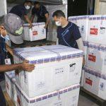 Pará recebe mais 127 mil doses de vacina contra covid