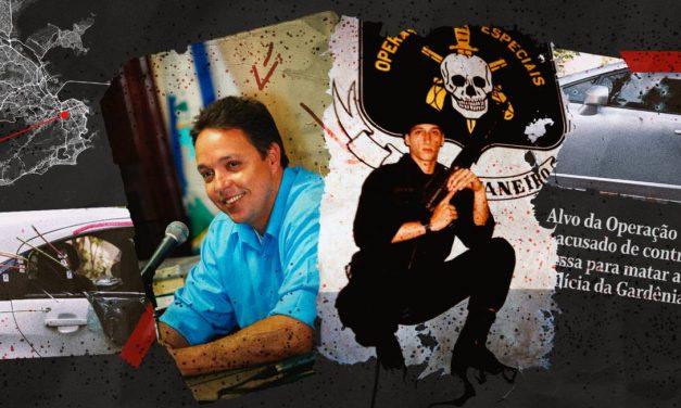 Manuscritos ligam Ronnie Lessa, preso pela morte de Marielle, ao ex-vereador Girão