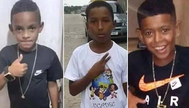 Ossada encontrada em Belford Roxo não é dos três meninos desaparecidos, diz perícia