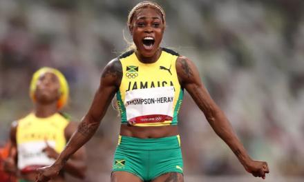 Campeã dos 100m e 200m rasos nas Olimpíadas de Tóquio é bloqueada pelo Instagram
