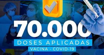 70.000 Doses Aplicadas