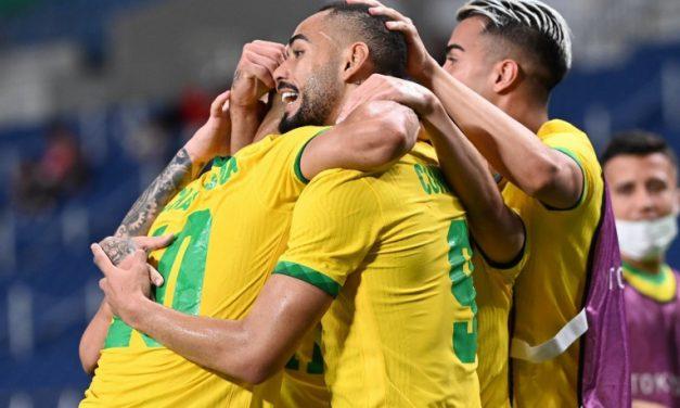 Brasil vence a Espanha na prorrogação e é bicampeão olímpico de futebol