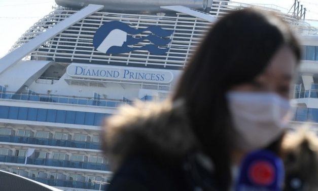 Sede da final do futebol nas Olimpíadas, Yokohama foi um dos primeiros focos da Covid-19 com o caso do navio Diamond Princess