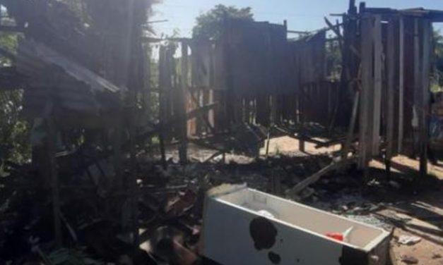 Barcarena: homem é preso após atear fogo na casa da ex-mulher e dos filhos